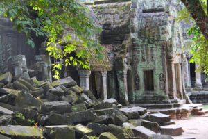 Ta Prohm Temple in Takeo - flimset for the film Tomb Raider