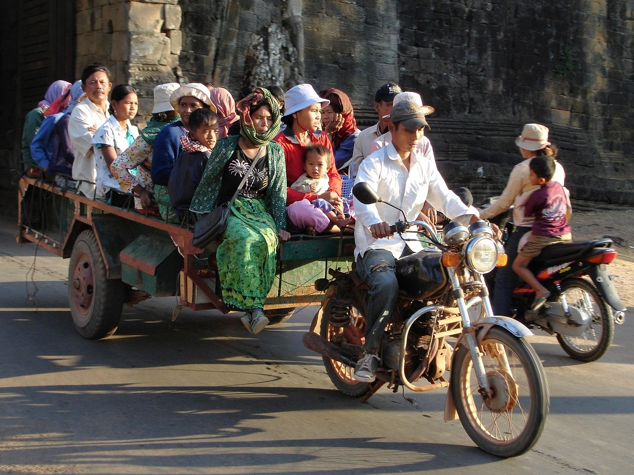 Cambodia is striving to upgrade its transport network
