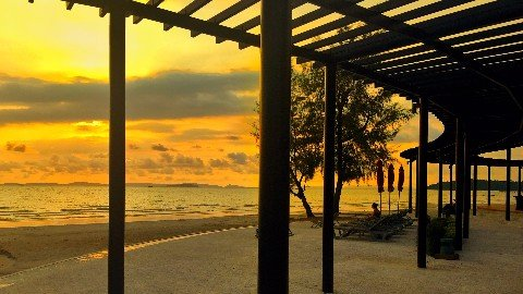 Independence Beach in Sihanoukville