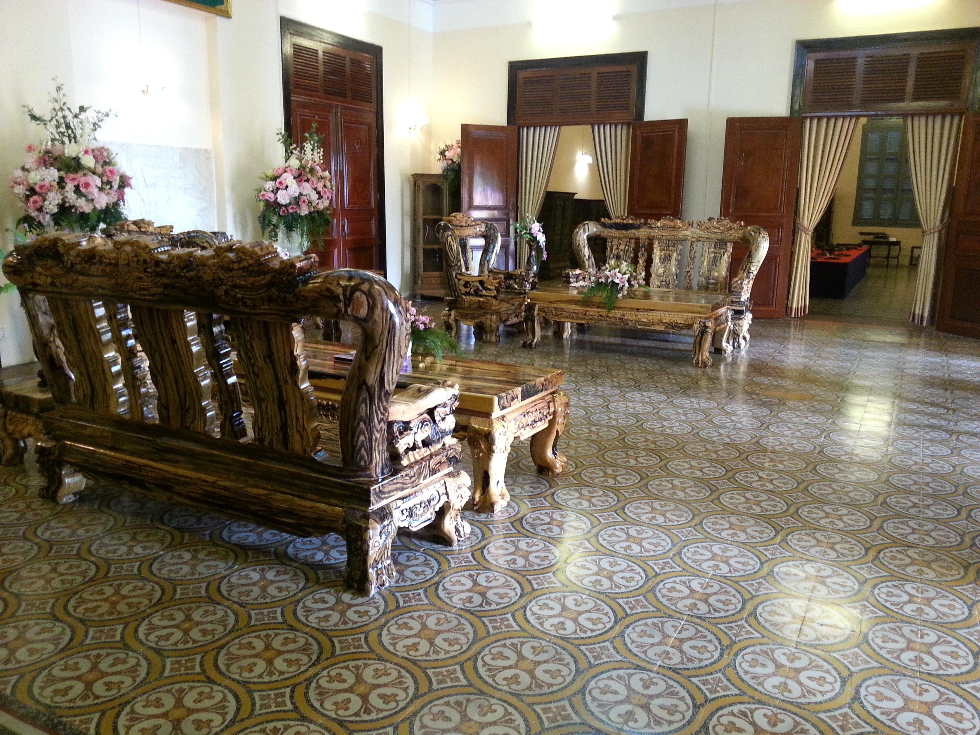 Entrance hall at the Governor's Residence