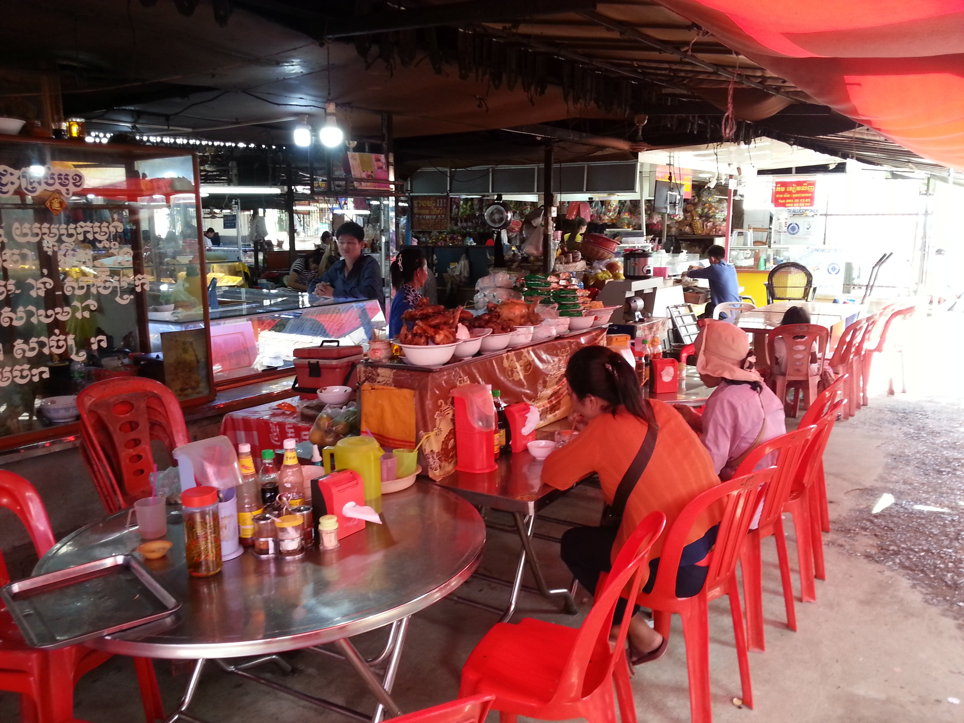 Foodstall at Pasar Nat