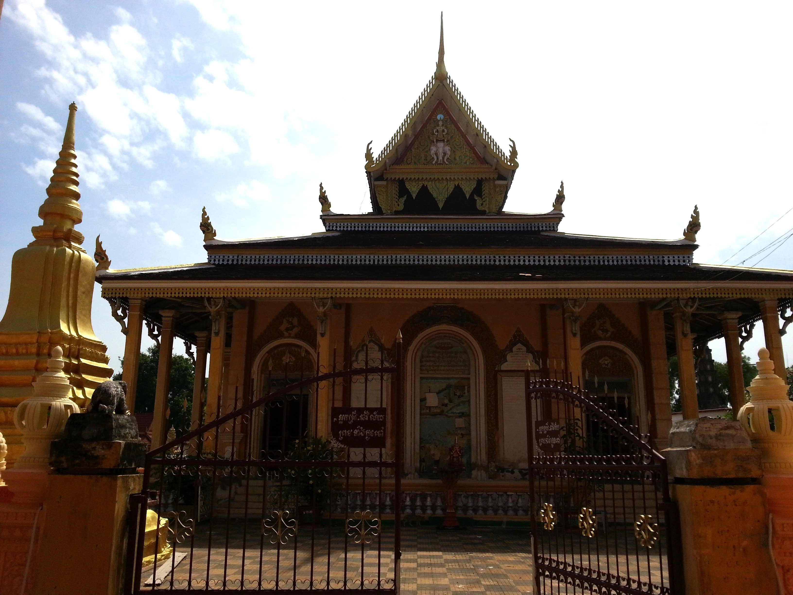 Congregation hall at Wat Kandal