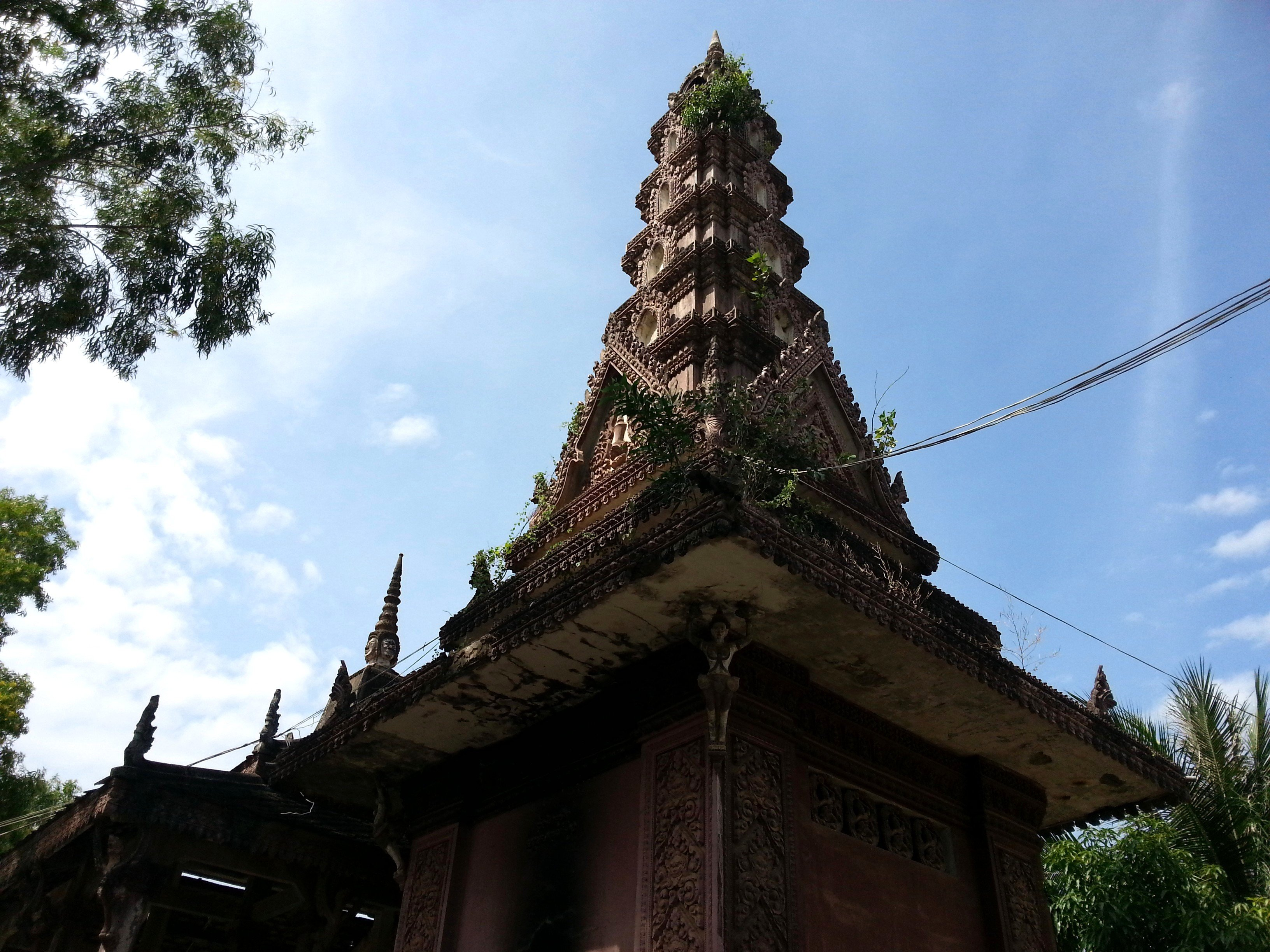 Replica Khmer Temples at Wat Kandal
