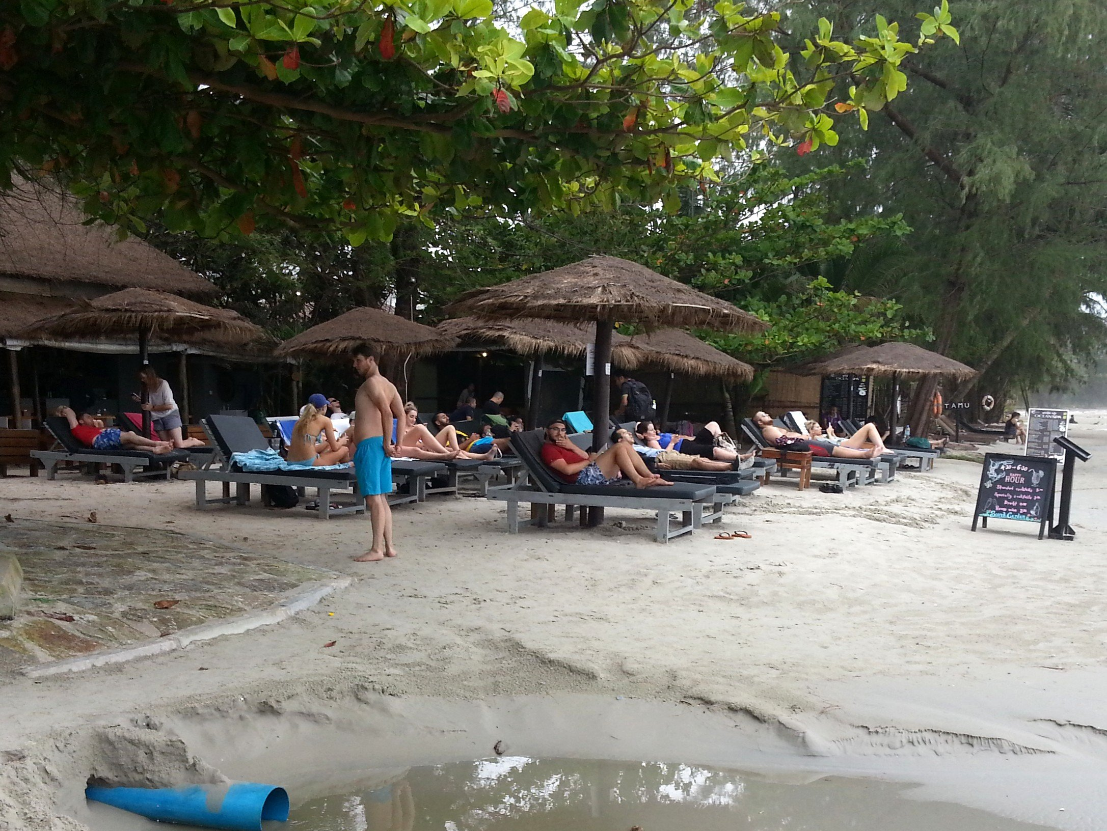 Secret Garden Restaurant and Bar on Otres Beach 2
