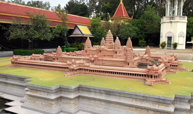 Model of Angkor Wat at the Royal Palace