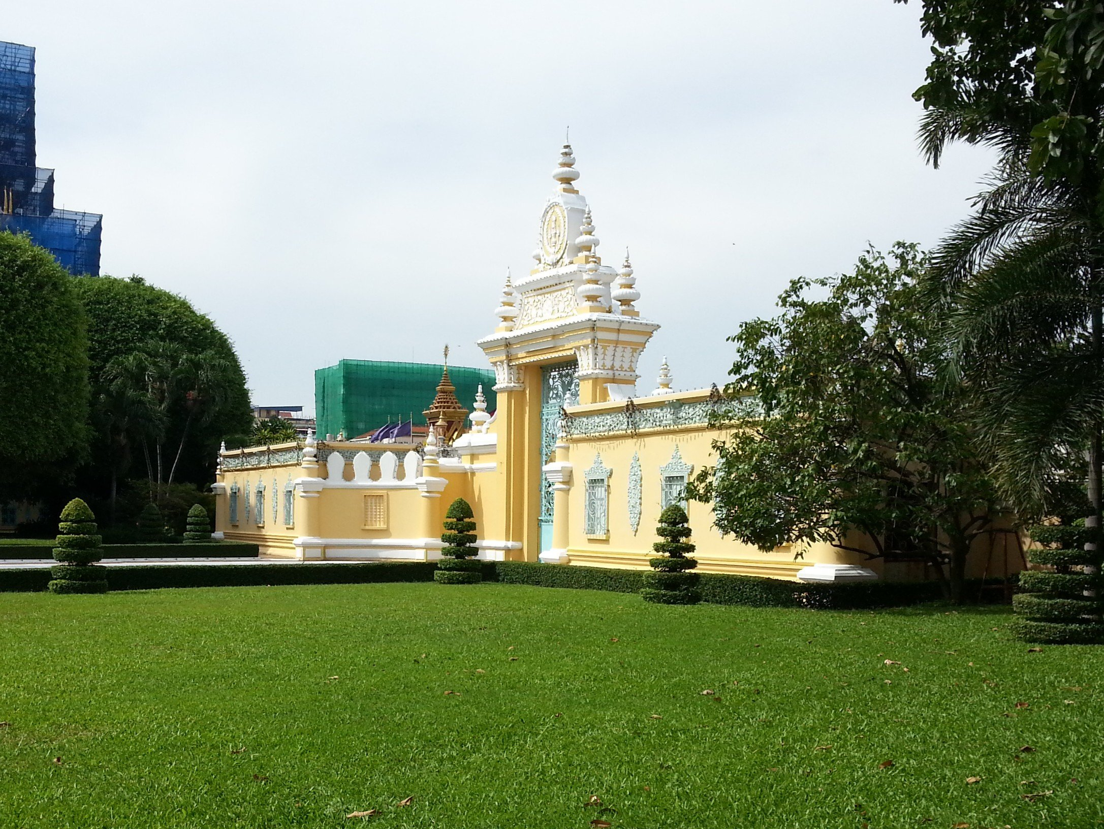 Victory Gate at the Royal Palace