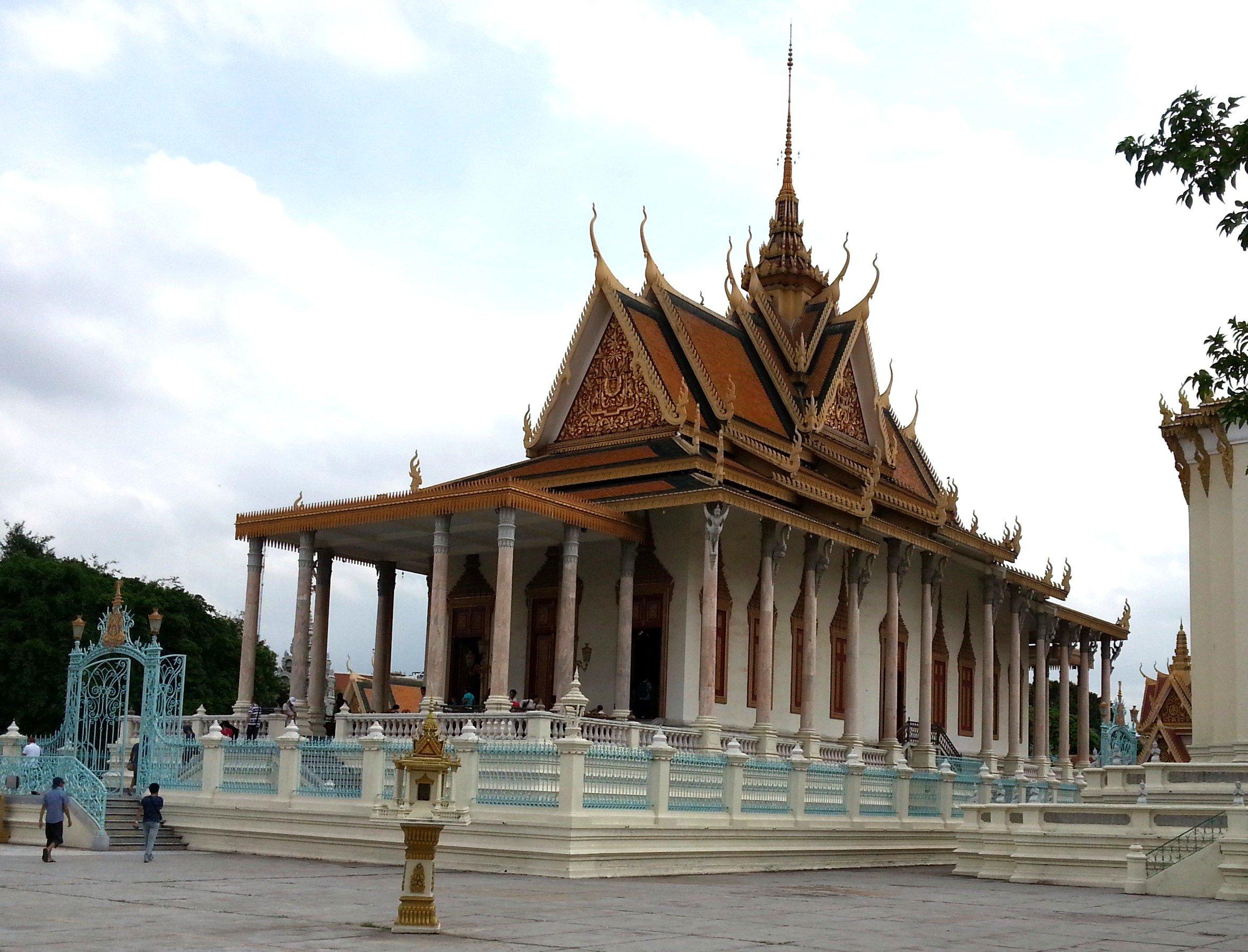 Silver Pagoda at the Royal Palace in Phnom Penh