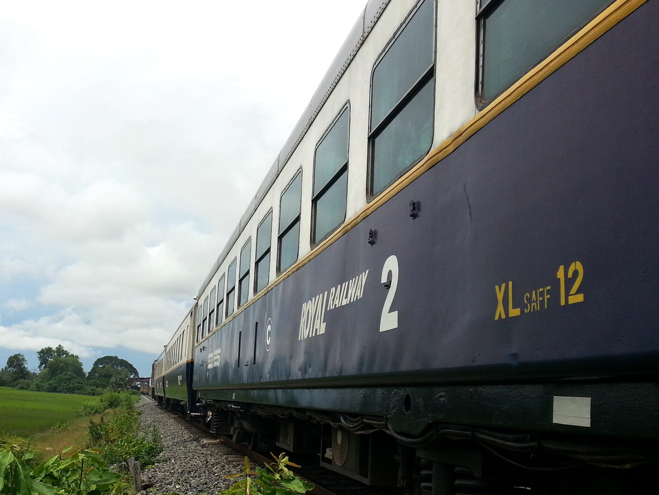 Sihanoukville to Phnom Penh Train